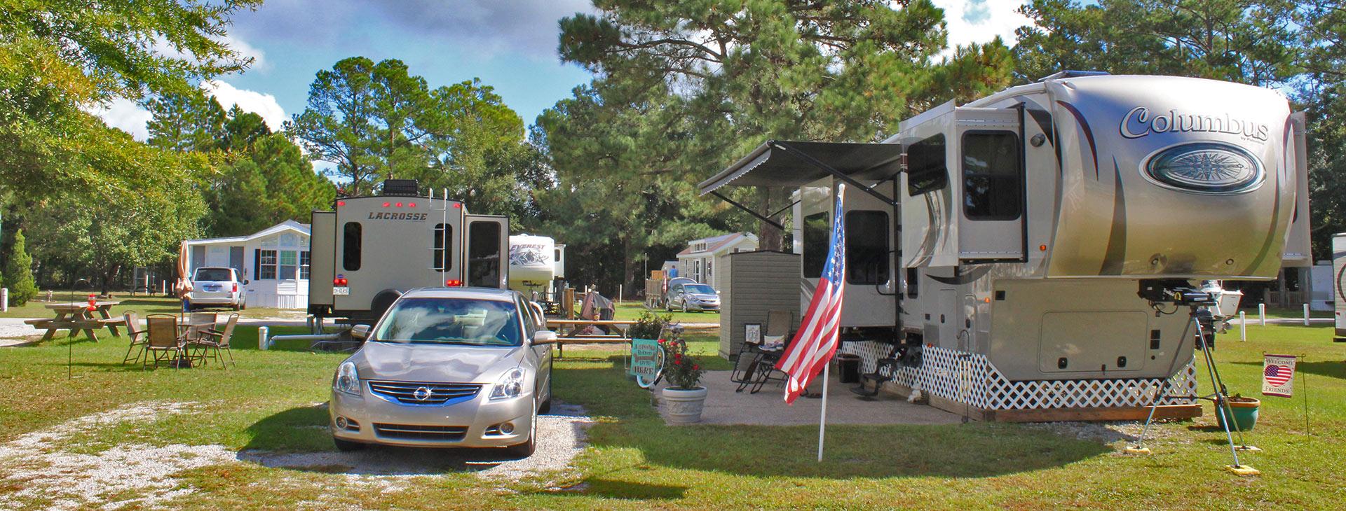 Water S Edge Rv Park North Carolina Camping