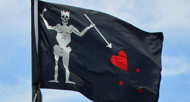 Blackbeard Flag